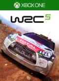 WRC 5: FIA World Rally Championship Xbox One Front Cover 1st version