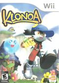 Klonoa: Door to Phantomile Wii Front Cover