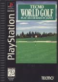 Tecmo World Golf PlayStation Front Cover