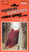 Sorcerer Atari 2600 Front Cover