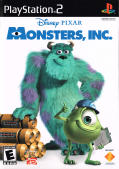 Disney•Pixar Monsters, Inc. PlayStation 2 Front Cover