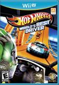 Hot Wheels: World's Best Driver Wii U Front Cover