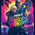 Trials of the Blood Dragon PlayStation 4 Front Cover