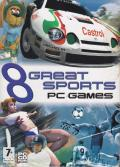 8 Great Sports PC Games Windows Front Cover