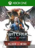 The Witcher 3: Wild Hunt - Blood and Wine Xbox One Front Cover 1st version
