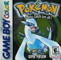 Pokémon Silver Version Game Boy Color Front Cover