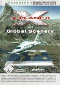 X-Plane 8: Deluxe Linux Front Cover