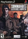Commandos: Strike Force PlayStation 2 Front Cover