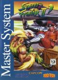 Street Fighter II: Champion Edition SEGA Master System Front Cover