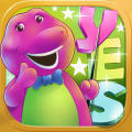 Learn English With Barney iPad Front Cover