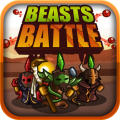 Beasts Battle iPad Front Cover
