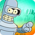 Futurama: Game of Drones Android Front Cover