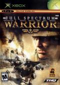 Full Spectrum Warrior Xbox Front Cover