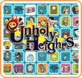 Unholy Heights Nintendo 3DS Front Cover