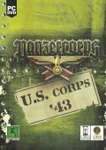 Panzer Corps: U.S. Corps '43 Windows Front Cover