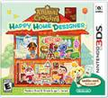 Animal Crossing: Happy Home Designer Nintendo 3DS Front Cover