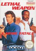 Lethal Weapon NES Front Cover