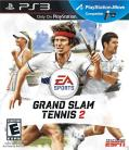 Grand Slam Tennis 2 PlayStation 3 Front Cover