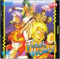 Flash Hiders TurboGrafx CD Front Cover Manual - Front