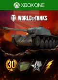 World of Tanks: AMX CDC Ultimate Xbox One Front Cover 1st version