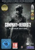 Company of Heroes 2: Platinum Edition Windows Front Cover