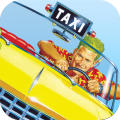 Crazy Taxi iPad Front Cover