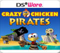 Crazy Chicken: Pirates Nintendo DSi Front Cover