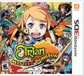 Etrian Mystery Dungeon Nintendo 3DS Front Cover