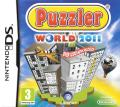 Puzzler World 2011 Nintendo DS Front Cover