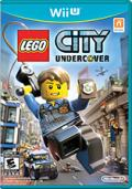 LEGO City: Undercover Wii U Front Cover