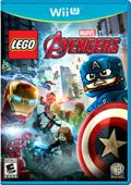 LEGO Marvel Avengers Wii U Front Cover