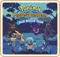 Pokémon Mystery Dungeon: Blue Rescue Team Wii U Front Cover