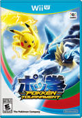 Pokkén Tournament Wii U Front Cover