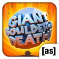 Giant Boulder of Death iPad Front Cover