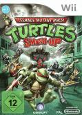 Teenage Mutant Ninja Turtles: Smash-Up Wii Front Cover