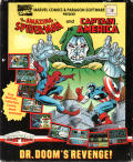 The Amazing Spider-Man and Captain America in Dr. Doom's Revenge! Atari ST Front Cover