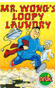 Mr. Wong's Loopy Laundry Amstrad CPC Front Cover