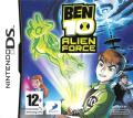 Ben 10: Alien Force Nintendo DS Front Cover