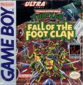 Teenage Mutant Ninja Turtles:  Fall of the Foot Clan Game Boy Front Cover