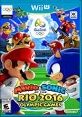 Mario & Sonic at the Rio 2016 Olympic Games Wii U Front Cover