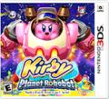 Kirby: Planet Robobot Nintendo 3DS Front Cover