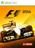 F1 2014 Xbox 360 Front Cover