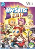 MySims Party Wii Front Cover