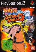 Naruto Shippuden: Ultimate Ninja 4 PlayStation 2 Front Cover