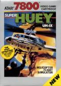 Super Huey UH-IX Atari 7800 Front Cover