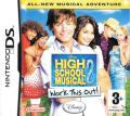 High School Musical 2: Work This Out! Nintendo DS Front Cover