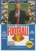 John Madden Football '92 Genesis Front Cover