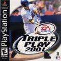 Triple Play 2001 PlayStation Front Cover