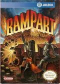 Rampart NES Front Cover