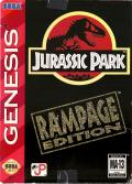 Jurassic Park: Rampage Edition Genesis Front Cover